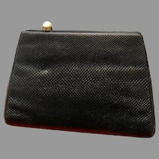 Vintage Leiber Karung Skins Purse with Ornamental Clasp
