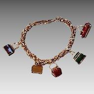 "Vintage Leiber ""Handbag"" Charm Bracelet"