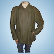 Pendleton Lobo Men's Vintage Olive / Khaki Green c1960's Outdoor Jacket Size 42 Medium