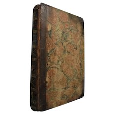 1817 Antique Commonplace Hand-written Book Poetry Prominent Pennsylvania Family Rosanna Bidleman