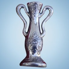 Sterling Loving Cup Figural Brooch