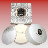 SEALED Vintage Guerlain Shalimar Perfume Body DUSTING Powder 8 oz - IN Box - Rare Find!