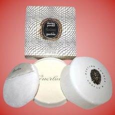 SEALED Vintage Guerlain Shalimar Perfume Body DUSTING Powder 8 oz - IN Box - Rare Find!