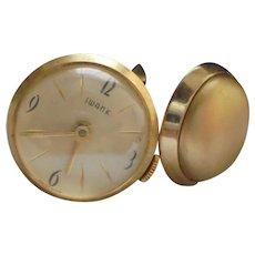 Watch Cufflink Set by Swank Rare Mens Timepiece Cufflinks