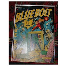 Golden Age Comic Book 1942 Blue Bolt Vol 3 No 5