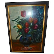 Sasha Moldovan Still Life Oil Painting ~ Highly Listed Russian / American (1901-1982) Artist Original Artwork Nature Morte