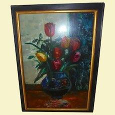 Sasha Moldovan Still Life Oil Painting ~ Highly Listed Russian / American (1901-1982) Artist Original Artwork Nature Morte