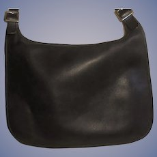 Gorgeous Coach Vintage  Black Supple Leather Handbag Shoulder Bag