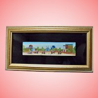 Polo Players Persian Miniature Painting