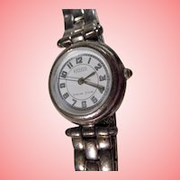 Ecclissi Sterling Silver Watch and Bracelet Vintage Ladies Wrist Watch