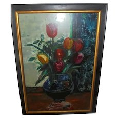 Sasha Moldovan Still Life Oil Painting ~ Highly Listed Russian / American (1901-1982) Artist Original Nature Morte