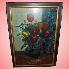 Sasha Moldovan Still Life Oil Painting ~ Highly Listed Russian / American (1901-1982) Artist Original Nature Morte