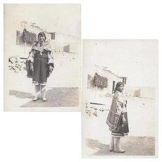 RPPC Pueblo Woman