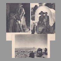 3 Native American Navajo Image Post Cards by Laura Gilpin