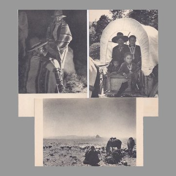 3 Native American Navajo Image Post Cards by Laura Gilpin