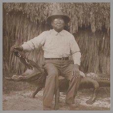 RPPC of Native American Quapaw Alex Beaver