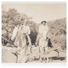 Native American Photograph of Alex Beaver Horseback