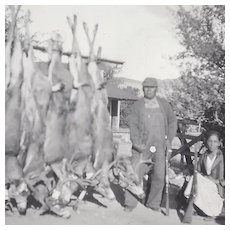 Hunting Photograph of Quapaw Alex Beaver