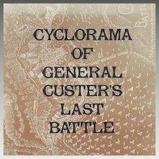 Cyclorama Of General Custer's Last Battle Book