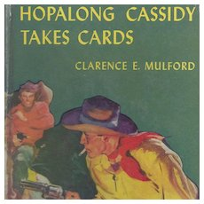 Hopalong Cassidy Takes Cards Book
