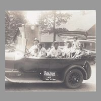 Native American Quapaws in Touring Car