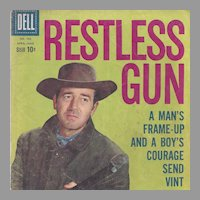 Restless Gun, Dell 1959, No. 986 Silver Age Comic Book