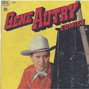 Gene Autry, Dell Comic June 1948, Vol. 1, No. 16