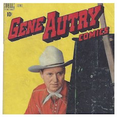 Gene Autry, Dell Comic June 1948, Vol. 1, No. 16