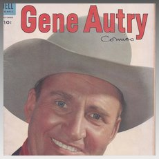 Gene Autry, Dell Comic November, 1953, Vol. l, No. 81