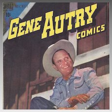 Gene Autry, Dell Comic November 1948, Vol. 1, No. 21,