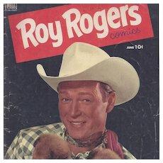 Roy Rogers Dell Comic Book Vol. 1 #54, June 1952