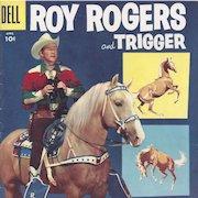 Roy Rogers and Trigger Dell Comic Book Vol. 1 #100, April 1956