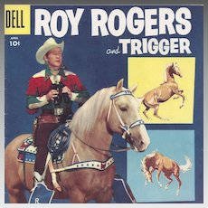 Roy Rogers and Trigger Dell Comic Book Vol. 1 #100, April 1956