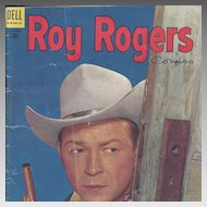 Roy Rogers Dell Comic Book Vol. 1 #74, February 1954