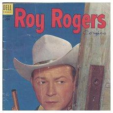 Roy Rogers Dell Comic Book Vol. 1 #74, February 1954
