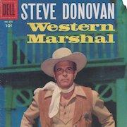 Steve Donovan Western Marshal, Dell Comic Book, #675, 1956
