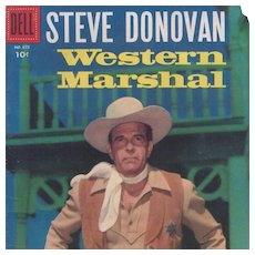 Steve Donovan Western Marshal, Dell Comic Book, #675, 1956