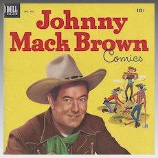 Johnny Mack Brown, Dell 1953, No. 455 Silver Age Comic Book