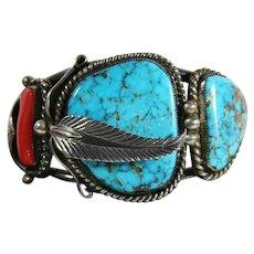 Native American Navajo Bracelet David K. Lister