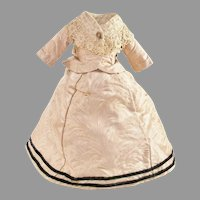 Large China Bisque Doll Dress and Undergarments