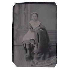 Civil War Era Antique Tin Type Photograph
