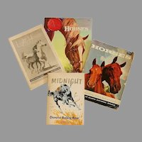 Group of 4 Horse Books