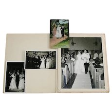Group Of Vintage Wedding Photographs