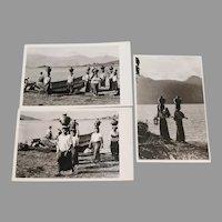 3 Guatemala Real Photo Postcards