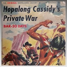 Hopalong Cassidy's Private War Book