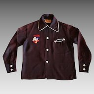 Hopalong Cassidy & Topper Child's Shirt