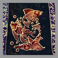 Indonesian Batik Fabric
