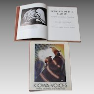 Native American Books:  Kiowa Voices And Song From The Earth