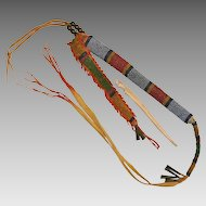 Native American Indian Beaded Awl Case