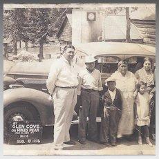 Native American Touring Car Photograph